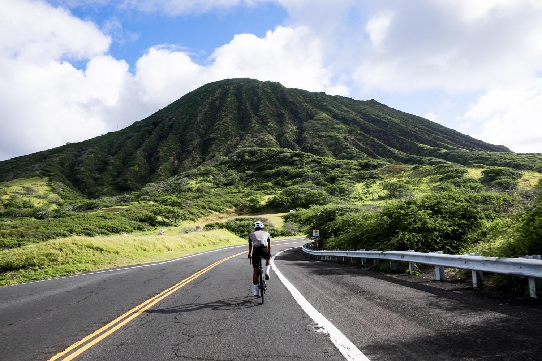 ハワイでクアロア・ランチ135kmロングライド!