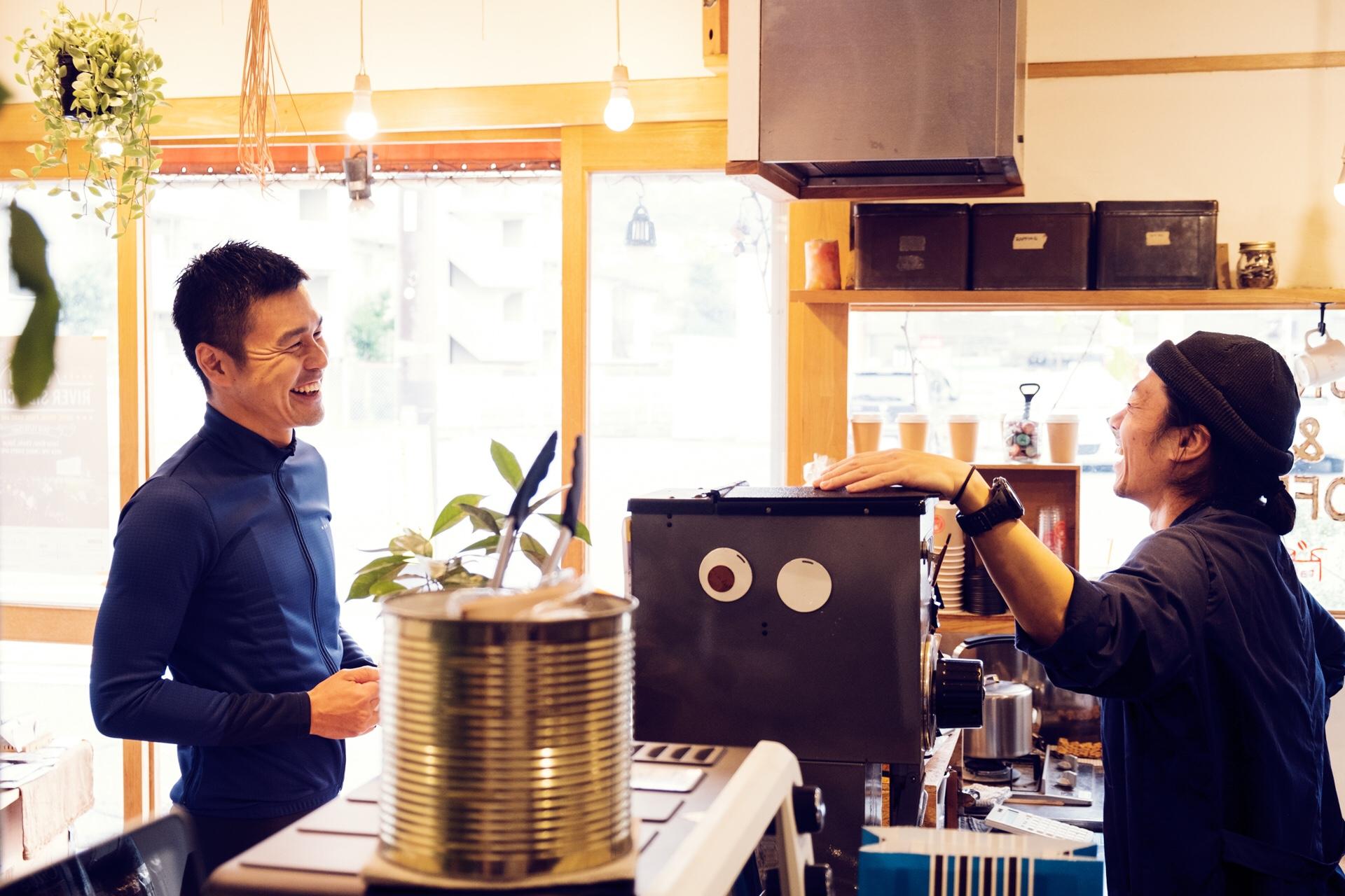 one coffee one rideというファンライド応援プロジェクト